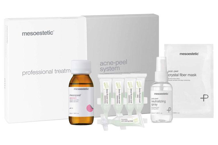 Akne behandeln mit mesoestetic acne peel bei Christine Holm in Pfarrkirchen